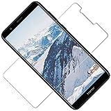 TOCYORIC Panzerglas Schutzfolie kompatibel mit Huawei Honor 7X, Ultra-HD, 9H Festigkeit, Anti-Kratzen, Anti-Öl, Anti-Bläschen Glas Bildschirmschutzfolie für Huawei Honor 7X, 3 Stück