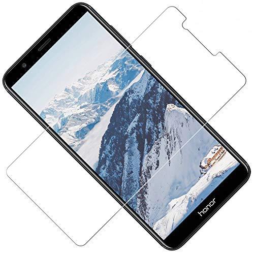 TOCYORIC Verre Trempé pour Huawei Honor 7X[3-Pack], Film Protection Écran Protecteur Honor 7X, Haute Transparence, sans Bulles, Dureté 9H, Anti Rayures Résistant [2.5D Bords]