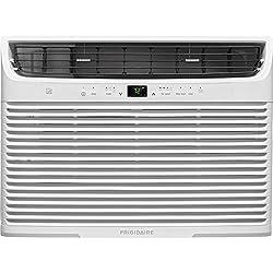 Frigidaire FFRE2533U2 25,000 BTU 230V Window-Mounted Heavy-Duty Temperature Sensing Remote Control Air Conditioner, White
