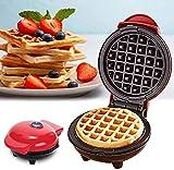 Mini Macchina Cialde Per Waffle, frittata, frittella, mini macchina per waffle per panini, biscotti, hash Browns altri in viaggio Colazione, pranzo o snack