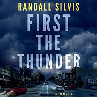 First the Thunder audiobook cover art