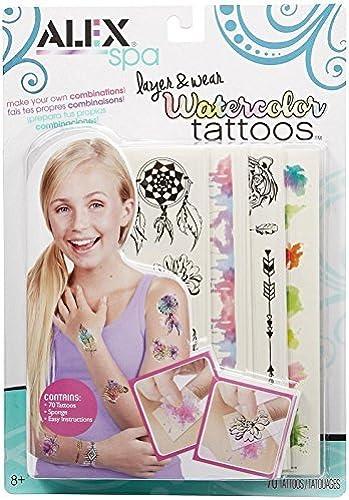 disfruta ahorrando 30-50% de descuento ALEX Toys Spa Layer and Wear Wear Wear WaterColor Tattoos by ALEX Toys  precios bajos todos los dias
