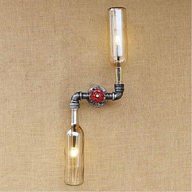 GAG-Spots muraux@ac 220v-240v 6w rustique / lodge laiton fonctionnalité de e27 pour le mur de lumière ampoule includedambient appliques murale ambre