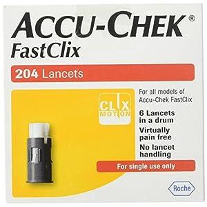 buy ACCU-CHEK FastClix Lancets 200+4 lancets Diabetes Care