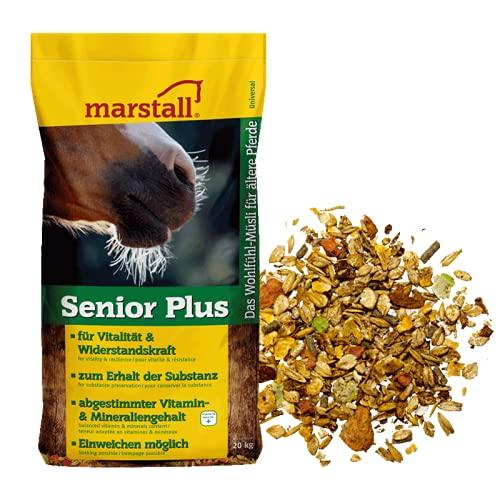 marstall Premium-Pferdefutter Senior Plus Pack de 1 (1 x 20 kg)