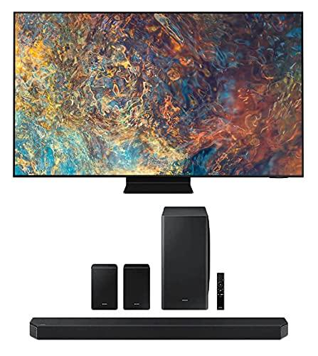 Samsung QN75QN90AA 75' Neo QLED QN90 Series 4K Smart TV Titan Black with a Samsung HW-Q950A 11.1.4...
