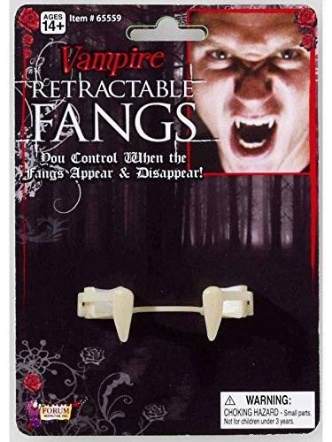 Forum Novelties Retractable Vampire Fangs