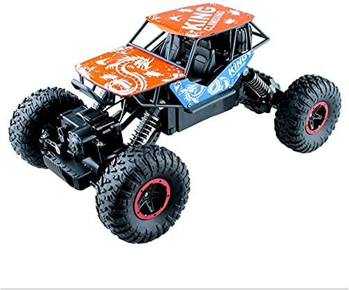 1/16 Modelo Deportes Off-road Racing Truck 2.4GHz Radio Controlado sobre orugas Vehículo 4WD Alta Velocidad Eléctrica Fast Race Hobby Buggy Interior Juegos al aire libre