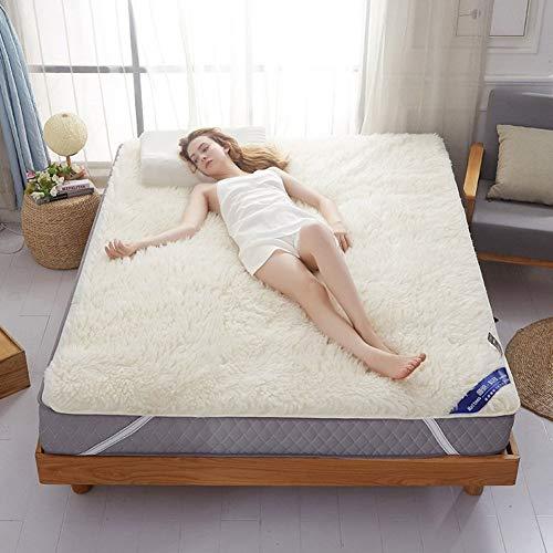 Wandgxiao Tatami vloermat, matras voor studentenhuis, futon-topper, dunne natuurlijke materialen, zachte, huidvriendelijke en comfortabele woonkamer.