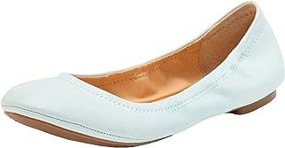 حذاء باليه مسطح للسيدات من Lucky Brand, (بلو جلو), 38 EU