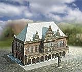 Aue Verlag 30x 20x 20cm Old Town Hall Bremen Germany Model Kit