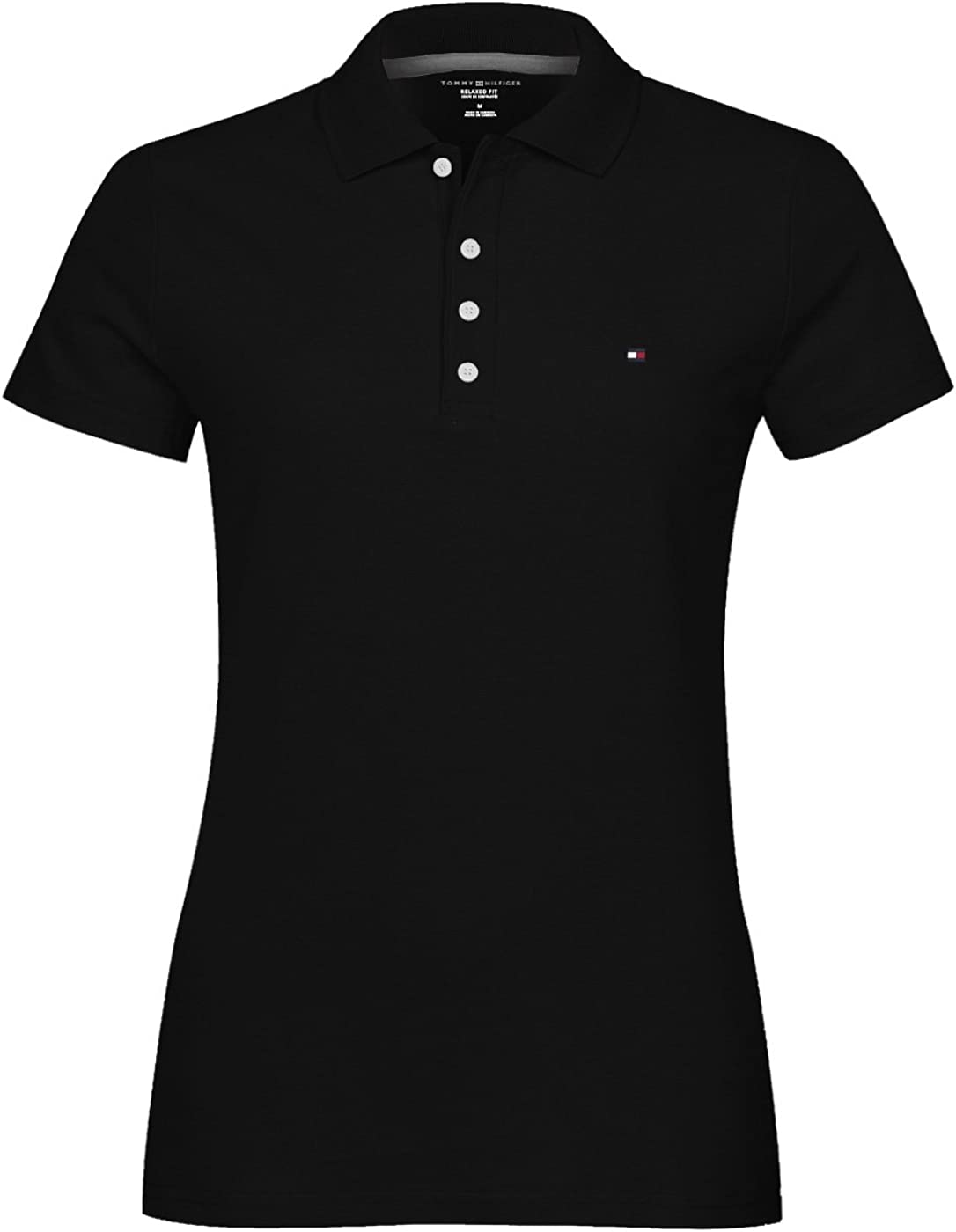 Tommy Hilfiger Women's Classic Fit Mesh Polo Shirt