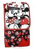 Jerry Leigh Disney Mickey et Minnie Ensemble de cuisine 3 pièces Motif Stroll and Stare Rouge