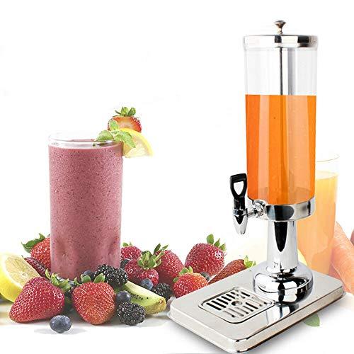 OUKANING Dispensador de Bebidas refrigeradas Dispensador de Bebidas Dispensador de Jugo con dispensador de Limonada de Grifo 3L