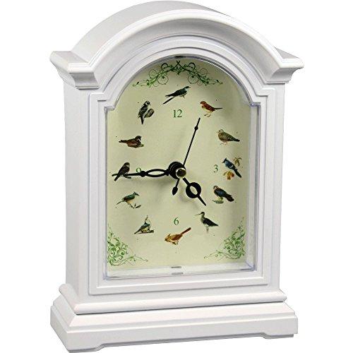 Deko-Uhr - Vogelliede