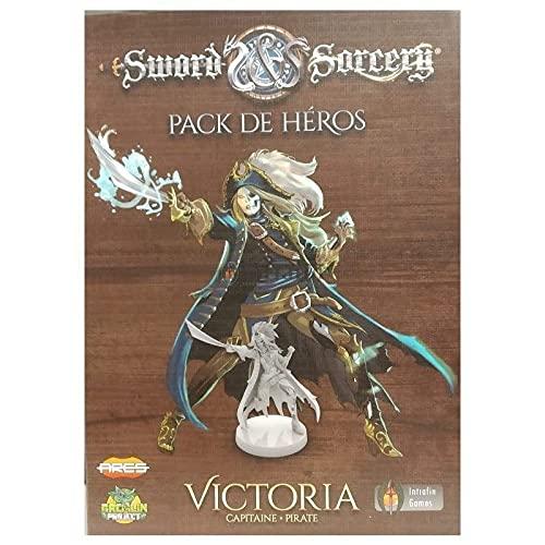 Sword & Sorcery – Confezione di eroi Victoria – Versione francese