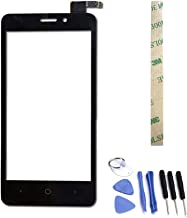 Dr.Chans Outer Screen Glass Digitizer Touch Screen Replacement with Free Tools for ZTE Avid Plus Z828 Z828L Prestige N9132 (Not LCD Display) Black