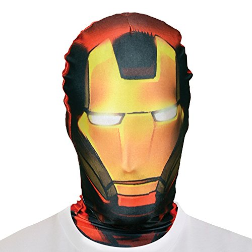 Morphsuits - adulto costume di Iron Man, un formato (SMLIR)