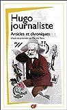 Hugo journaliste - Articles et chroniques