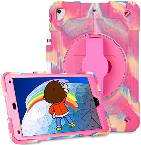 iPad Air 3 Case Heavy Duty Shockproof Case 360 Degree Adjustment Stand Rugged Protective Case product image