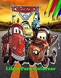 Cars 3 Libro Para Colorear: Diseños Hermosos de 70 Páginas Para Colorear: y Divertirse (Español)...