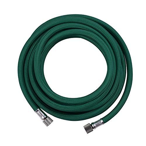 Entweg Airbrush-Schlauch, 3 m / 10 ft Textil geflochtener Airbrush-Schlauch Gewebtes Pumpenrohr mit Standard-1/8-Zoll-Adapter an beiden Enden
