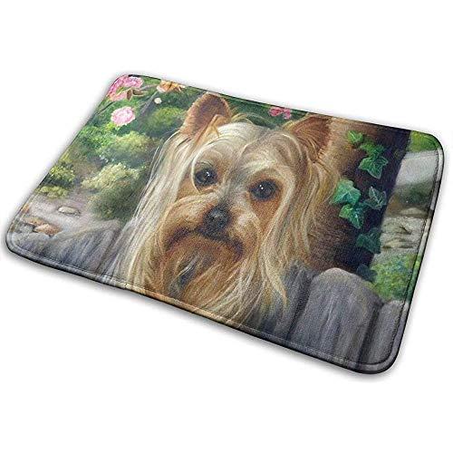 Yorkshire Terrier Teetasse Hund niedlich Gartenmöbel Moderne Teppiche Boden Teppich Indoor Outdoor Teppich gedruckt Teppiche
