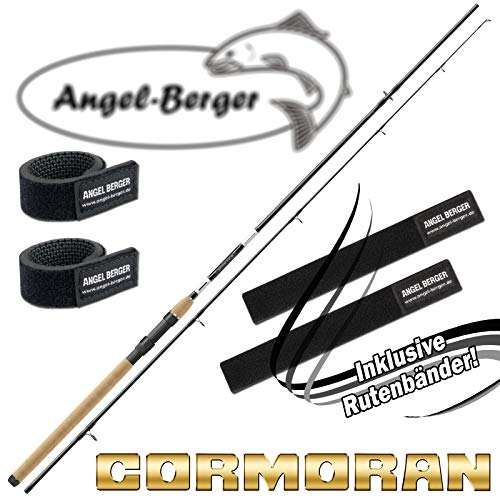 Angel-Berger Cormoran Black Master Spin alle Modelle Rutenband (3,00m / 10-40g)