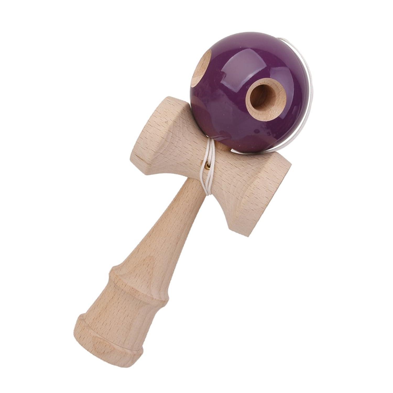 B Baosity 競技用けん玉 けん玉 ストリートけん玉 伝統的 木のおもちゃ