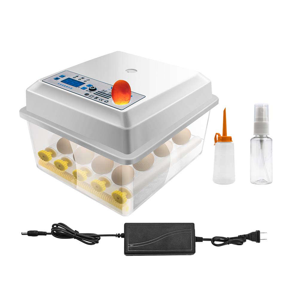 16 Eggs Egg Incubator Indianapolis Mall Fully Ha Poultry Automatic Digital NEW before selling Hatcher