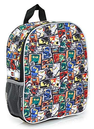 Lego Ninjago Bag For Boys, Junior Backpack for Kids, School Bag For CHildren, Ninja Print Medium Rucksack