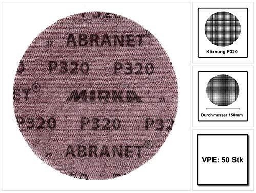 Mirka 5423205080/Abranet Grip P80 125/mm 50/PRO Pack