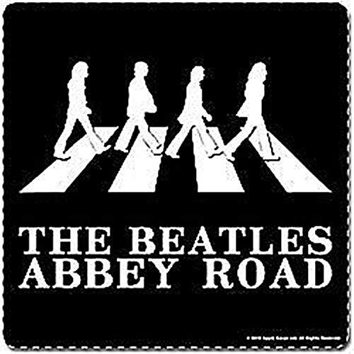 signs-unique Beatles Abbey Road (B&W Silhouette) tapis de boissons/dessous de verre (ro)