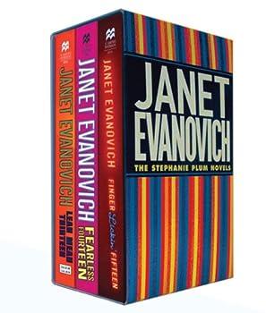 Paperback Plum Boxed Set 5, Books 13-15 (Lean Means Thirteen / Fearless Fourteen / Finger Lickin' Fifteen) (Stephanie Plum Novels) Book