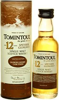 Tomintoul 12 YO Mini Single Malt Whisky 40% 0,05L