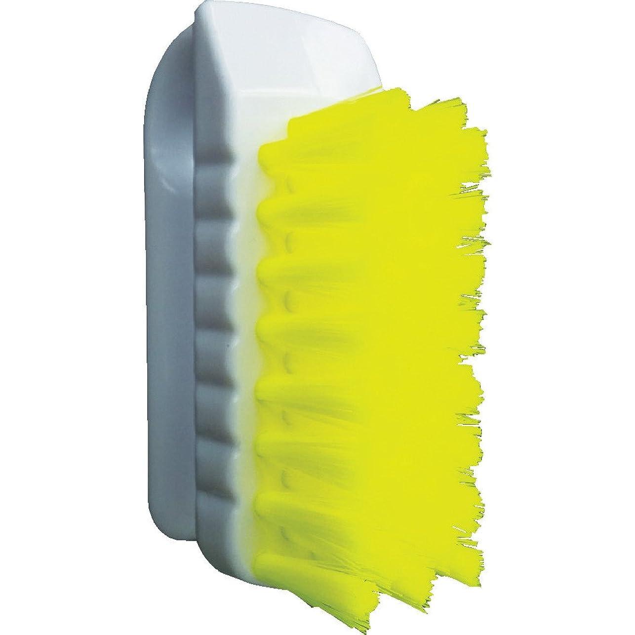 テスピアンモンキー乳白色バーテック バーキュート 私の爪ブラシ 黄 BCN-Y 61700301 つめ除菌ブラシ
