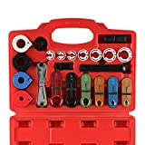 22pcs Master Quick Disconnect Tool Kit for Automotive AC Fuel Line and Transmission Oil Co...