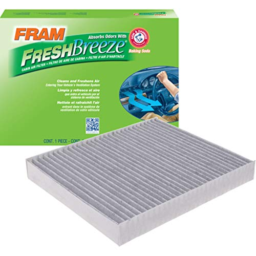 FRAM Fresh Breeze Cabin Air Filter with Arm & Hammer Baking Soda, CF11966 for GM Vehicles