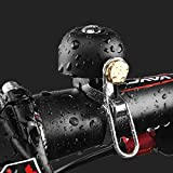 NILAN Bicycle Bell, Bike Bells for Adults,Bicycle Bell for Kids Mountain Bike Road Bike Classic Bicycle Bell with Loud...