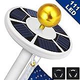 Best Flag Pole Lights - Solar Flag Pole Light 111 led Light, Super Review