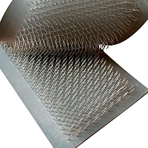 IGOSAIT 24 cm x 9 cm alfombra de dibujo para extensiones de pelo a granel extensiones de pelo tarjeta de dibujo (almohadilla de piel) con agujas