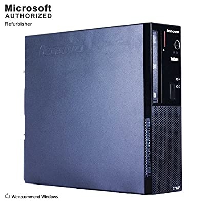 Lenovo ThinkCentre E73 Small Form Factor Desktop PC, Intel Core i3 4130 3.4GHz, 8G DDR3, 500G, WiFi, BT 4.0, DVD, Windows 10 64-Multi-Language Support English/Spanish/French(Renewed)
