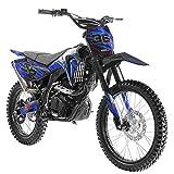X-PRO 250cc Dirt Bike Pit Bike Gas Dirt Bikes Adult Dirt Pitbike 250cc Gas Dirt Pit Bike,Blue