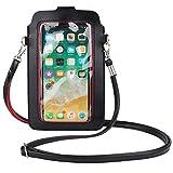 Women Cell Phone Holder Crossbody Wristlet Purse for Motorola Moto G100, G50, G10 Power, Edge S