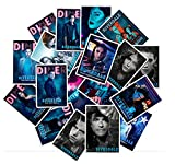 TV Drama Riverdale Laptop Stickers - Decals Vinyl Waterproof for Water Bottle Cars Motorcycle Bicycle Bumper Skateboard Luggage Phone Case DIY Decoration Gift 25 pcs [No-Duplicate]