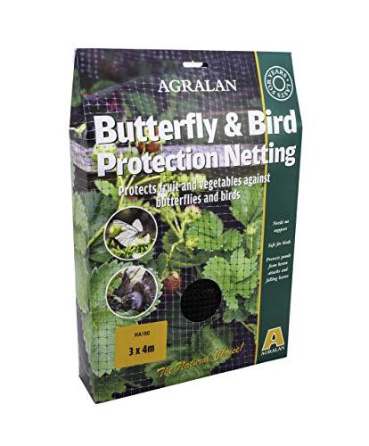 Agralan M160 Filet de Protection Anti-Papillons/Oiseaux Taille Standard