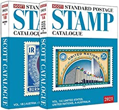 2021 Scott Standard Postage Stamp Catalogue - Volume 1 (US & A-B) (Scott Catalogues)
