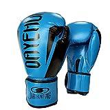 Guantes de boxeo Cuero infusión de gel for el combate de Kickboxing La lucha contra los guantes mitones Muay Thai Deportes High Class Boxing MMA for los guantes Hombres Mujeres de arena pesada bolsa d