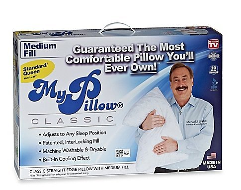 MyPillow Medium Fill Standard/Queen Pillow