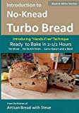 Introduction to No-Knead Turbo Bread (Ready to Bake in 2-1/2 Hours… No Mixer… No Dutch Oven… Just a Spoon and a Bowl) (B&W Version): From the kitchen ... Turbo Bread (B&W Version)) (Volume 1)